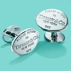 ⭐️TIFFANY & CO Silver Cuff Links